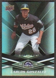 2009 Upper Deck Spectrum Black #72 Carlos Gonzalez /50