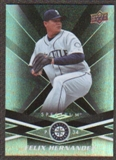 2009 Upper Deck Spectrum Black #84 Felix Hernandez /50