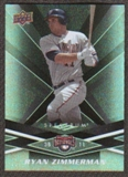 2009 Upper Deck Spectrum Black #99 Ryan Zimmerman /50
