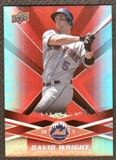 2009  Upper Deck Spectrum Red #60 David Wright /250