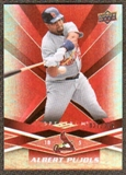 2009  Upper Deck Spectrum Red #87 Albert Pujols /250