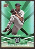 2009 Upper Deck Spectrum Green #37 Justin Verlander /99
