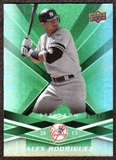 2009 Upper Deck Spectrum Green #64 Alex Rodriguez /99