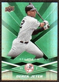 2009 Upper Deck Spectrum Green #65 Derek Jeter /99