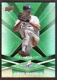 2009 Upper Deck Spectrum Green #79 Greg Maddux /99