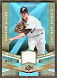 2009 Upper Deck Spectrum Spectrum Swatches Light Blue #SSAM Andrew Miller /99