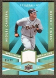 2009 Upper Deck Spectrum Spectrum Swatches Light Blue #SSCA Miguel Cabrera /99