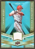 2009 Upper Deck Spectrum Spectrum Swatches Light Blue #SSCU Chase Utley /99