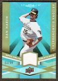 2009 Upper Deck Spectrum Spectrum Swatches Light Blue #SSDH Dan Haren /99