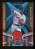 2009 Upper Deck Spectrum Spectrum Swatches Light Blue #SSDM Daisuke Matsuzaka /99