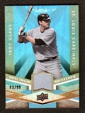 2009 Upper Deck Spectrum Spectrum Swatches Light Blue #SSGL Troy Glaus /99