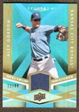 2009 Upper Deck Spectrum Spectrum Swatches Light Blue #SSGO Alex Gordon /99