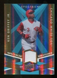 2009 Upper Deck Spectrum Spectrum Swatches Light Blue #SSKG Ken Griffey Jr. /99