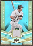 2009 Upper Deck Spectrum Spectrum Swatches Light Blue #SSLB Lance Berkman /99