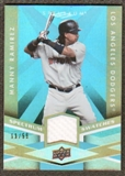 2009 Upper Deck Spectrum Spectrum Swatches Light Blue #SSMA Manny Ramirez /99
