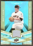 2009 Upper Deck Spectrum Spectrum Swatches Light Blue #SSMC Matt Cain /99