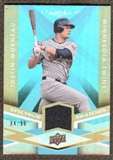 2009 Upper Deck Spectrum Spectrum Swatches Light Blue #SSMO Justin Morneau /99