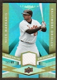 2009 Upper Deck Spectrum Spectrum Swatches Light Blue #SSNI Nick Markakis /99