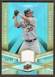 2009 Upper Deck Spectrum Spectrum Swatches Light Blue #SSOR Magglio Ordonez /99