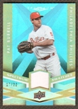 2009 Upper Deck Spectrum Spectrum Swatches Light Blue #SSPB Pat Burrell /99