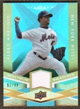 2009 Upper Deck Spectrum Spectrum Swatches Light Blue #SSPM Pedro Martinez /99
