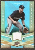 2009 Upper Deck Spectrum Spectrum Swatches Light Blue #SSRB Ryan Braun /99