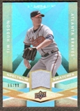 2009 Upper Deck Spectrum Spectrum Swatches Light Blue #SSTH Tim Hudson /99