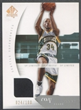 2005/06 SP Authentic #81 Ray Allen Limited Jersey #024/100