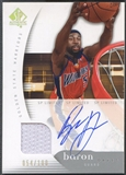 2005/06 SP Authentic #25 Baron Davis Limited Jersey Auto #054/100