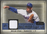 2008 SP Legendary Cuts #NR2 Nolan Ryan Legendary Memorabilia Jersey #12/25