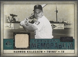 2008 Upper Deck SP Legendary Cuts #HK Harmon Killebrew Legendary Memorabilia Jersey #74/99