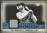 2008 SP Legendary Cuts #JD Joe DiMaggio Legendary Memorabilia Jersey #25/50