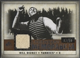 2008 SP Legendary Cuts #BD Bill Dickey Legendary Memorabilia Jersey #02/50