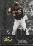 2005 Leaf Century #135 Frank Thomas Material Fabric Position Jersey #178/250