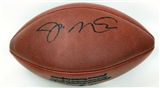 Joe Montana Autographed San Francisco 49ers Official NFL Football (Upper Deck)