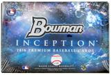 2016 Bowman Inception Baseball Hobby Box