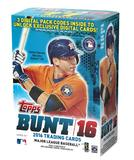 2016 Topps BUNT Baseball 11-Pack 16-Box Case