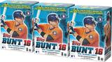 2016 Topps BUNT Baseball 11-Pack Box (Lot of 3)