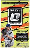 2016 Panini Donruss Optic Baseball Hobby 12-Box Case- DACW Live @ National 30 Team Random Break