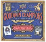 2016 Upper Deck Goodwin Champions Hobby Box