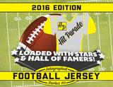 2016 Hit Parade Autographed Football Jersey Hobby Box - Series 10 - Peyton Manning & Bo Jackson !!!
