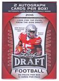 2016 Leaf Draft Football 20-Pack Box (2 Autos Per Box!) (Lot of 5)