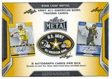 2016 Leaf Metal U.S. Army All-American Bowl Football Hobby Box