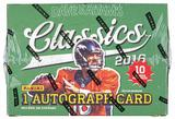 2016 Panini Classics Football Hobby 20-Box Case- DACW Live @ National 32 Team Random Break
