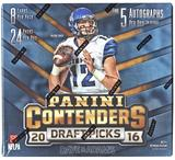 2016 Panini Contenders Draft Picks Football Hobby Box