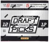 2016 Panini Prizm Collegiate Draft Picks Football Hobby Box