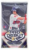 2016 Topps Pro Debut Baseball Hobby Pack