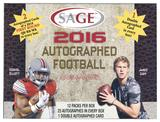 2016 Sage Autographed Football Hobby Box