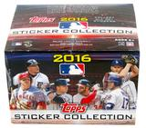2016 Topps Baseball MLB Sticker Collection Box