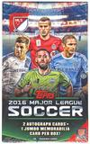 2016 Topps MLS Major League Soccer Soccer Hobby Box